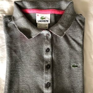Lacoste Tops - Lacoste Women's Pique Polo Shirt 5 buttons